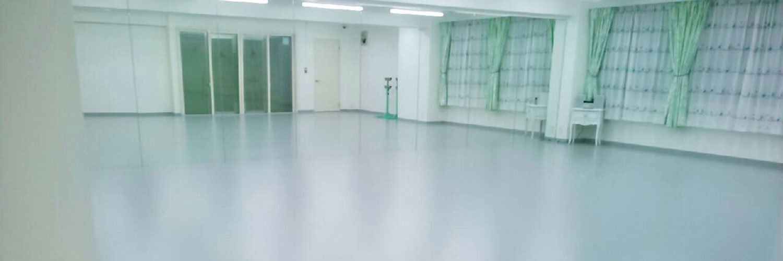 グラヴィティヨガソフィバレエスタジオ室内風景